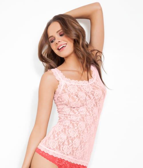 Hanky Panky SMALL Bliss Pink Signature Lace Unlined Camisole