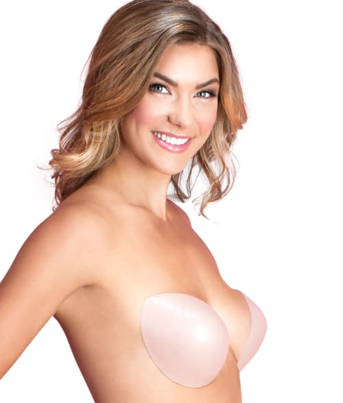 Fashion Forms B/C Nude Backless Strapless Plunge Push-Up Bra 93NIFK0