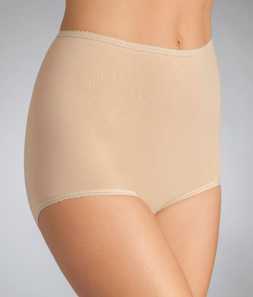 Bali 7 Nude Cool Cotton Skimp Skamp Brief 92OU730