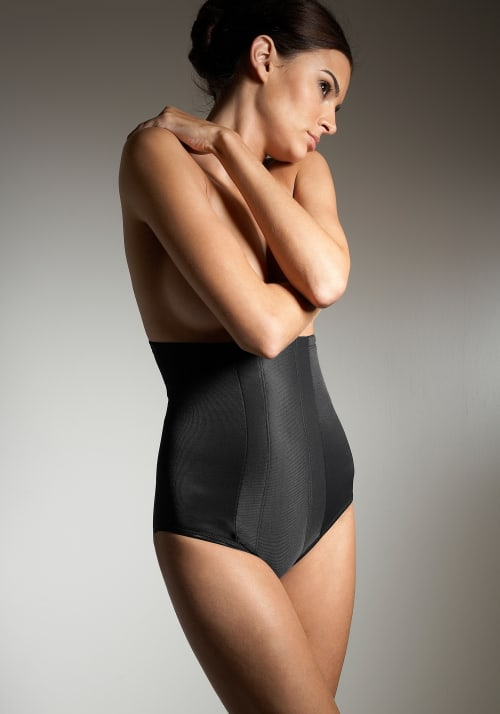 Miraclesuit M Black Extra Firm Control High-Waist Brief 9469930