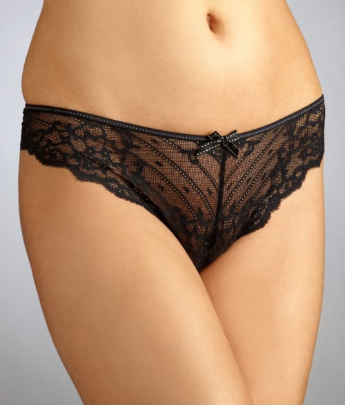 Chantelle MEDIUM Black Rive Gauche Tanga 4718630