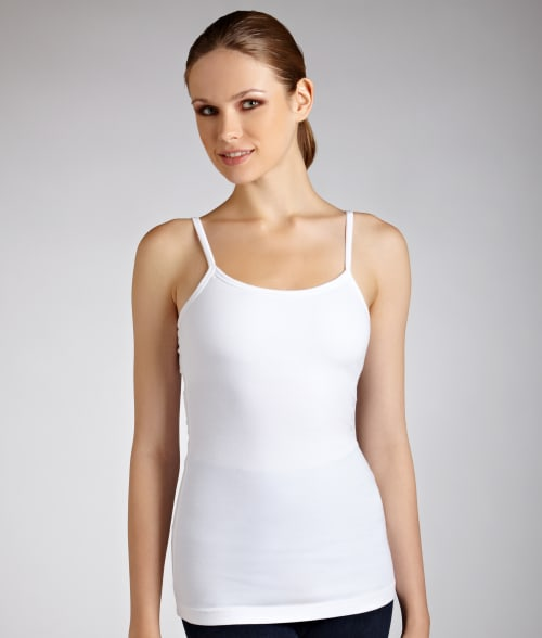 Hard Tail S White Shelf Bra Camisole 92CIF20