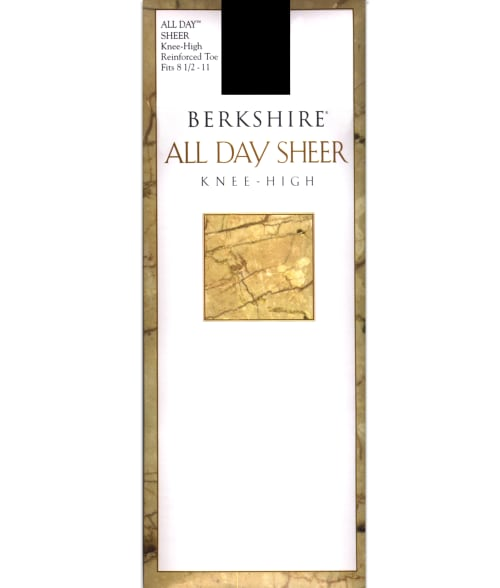 Berkshire Regular Nude All Day Sheer Knee Highs 3381710