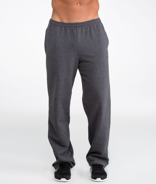 Champion S Navy Relaxed Band Fleece Sweatpants 935GX20