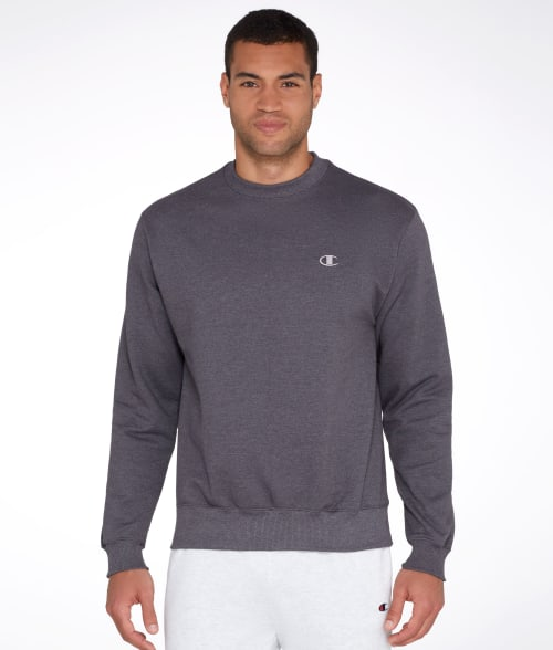 Champion L Granite Heather Eco Fleece Pullover Sweatshirt 935GL40