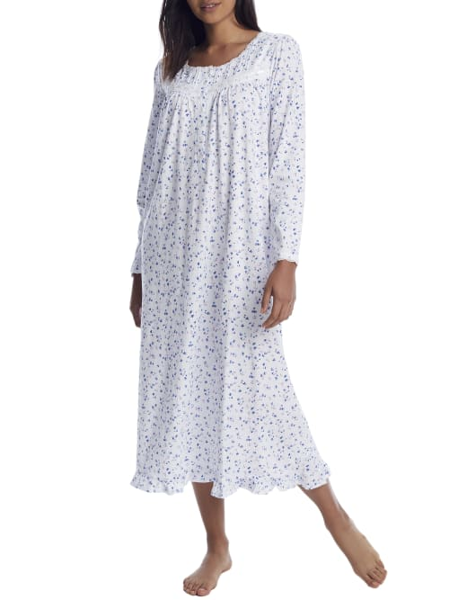 Eileen West Knits ENGLISH BOUQUET KNIT NIGHTGOWN