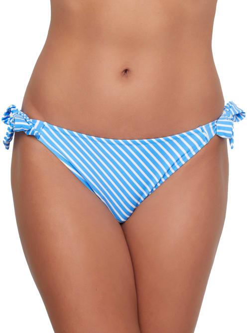 Freya Beach Hut Rio Scarf Side Tie Bikini Bottom In Blue Moon