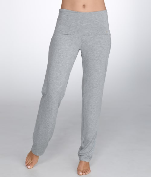Hanro XL Grey Melange Modal Yoga Lounge Pants 93Y8A50