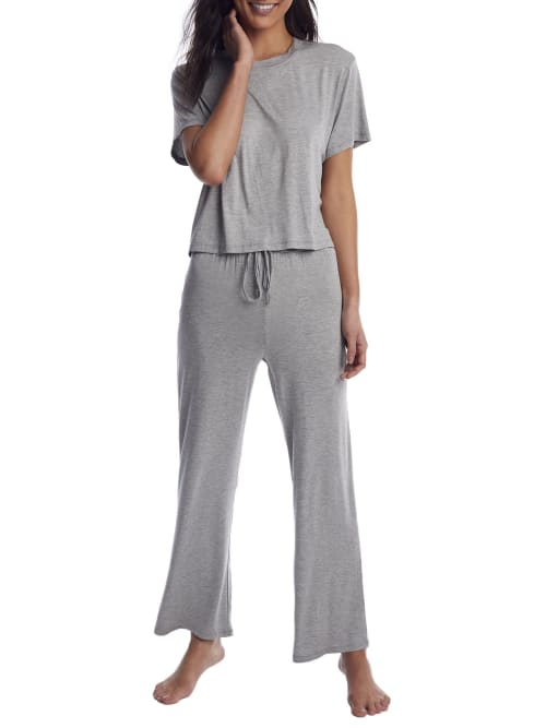Honeydew Intimates Heather Grey All American Knit Pajama Set