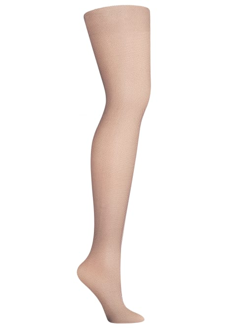 Hanes PLUS SIZE CURVES FISHNET TIGHTS