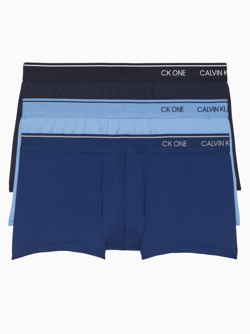 Calvin Klein CK ONE LOW RISE TRUNK 3-PACK