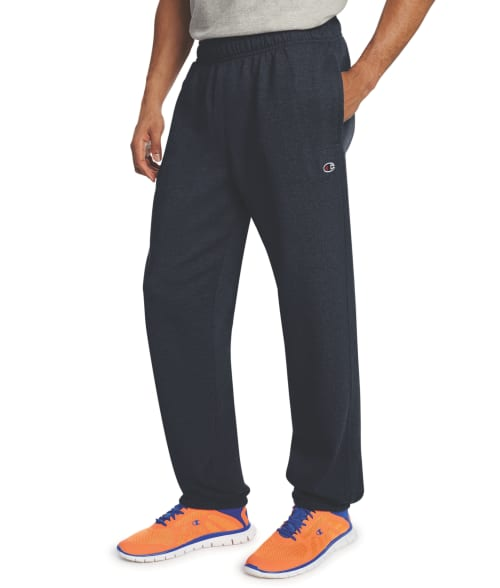 Champion L Navy Powerblend Fleece Swearpants 93SJ340