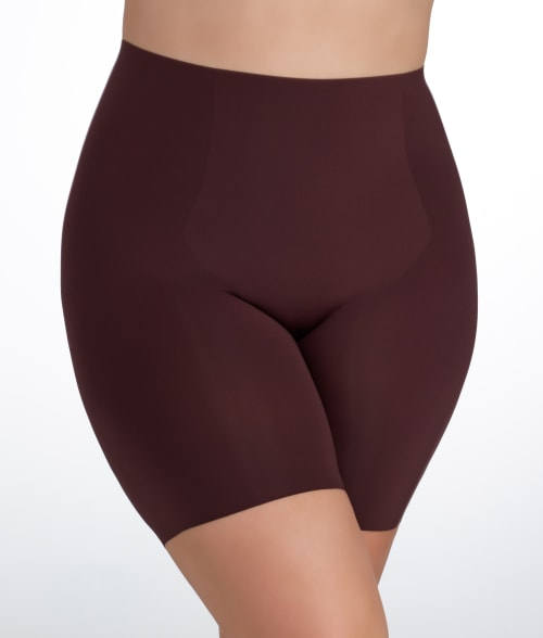 SPANX 1X Soft Nude Trust Your Thinstincts Medium Control Targeted Short Plus Size 93QF350