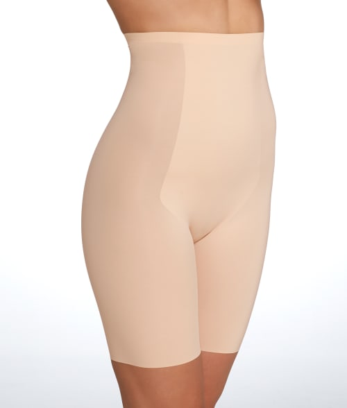 SPANX 1X Soft Nude Trust Your Thinstincts High-Waist Shorts Plus Size 93QF750