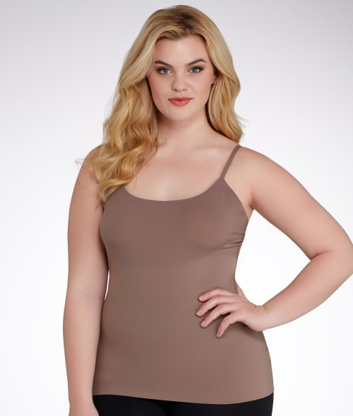 SPANX 1X Soft Nude Trust Your Thinstincts Medium Control Convertible Camisole Plus Size 93QFD50
