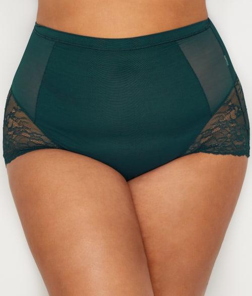 SPANX 2X Malachite Plus Size Lace Collection Brief