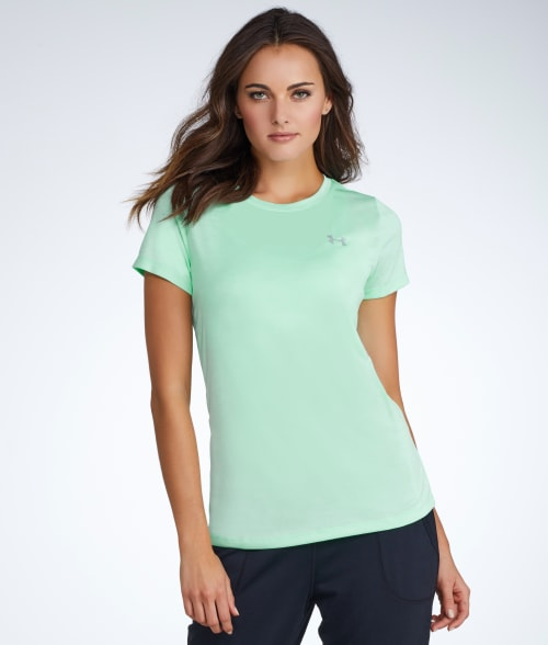 Under Armour XS Steel UA HeatGear® Tech Twist T-Shirt 93R3Y10
