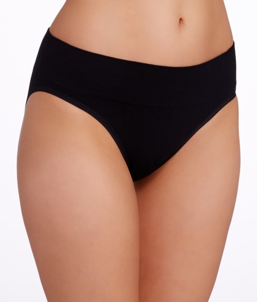 Yummie by Heather Thomson L/XL Black Nadine Brief 93VMXA0