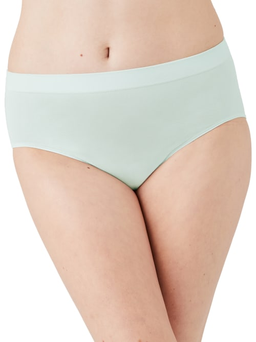 Wacoal Women's B-smooth Brief In Hushed Green