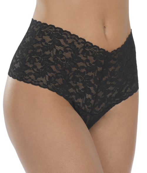 Plus Size Signature Lace Retro Thong