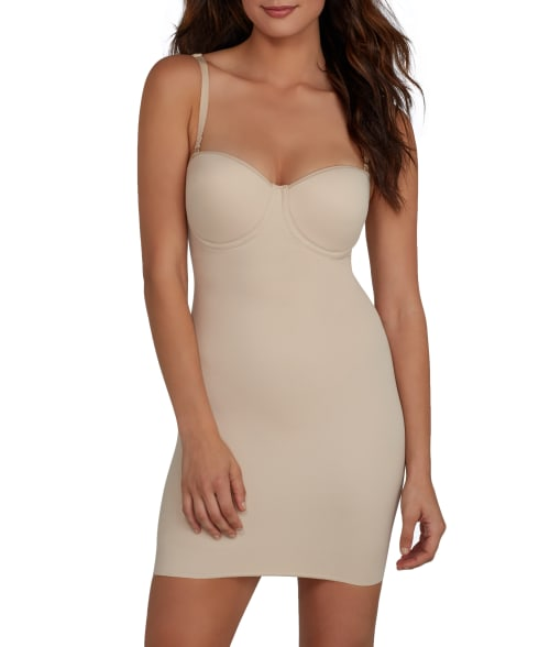 Miraclesuit REAL SMOOTH EXTRA FIRM CONTROL STRAPLESS SLIP