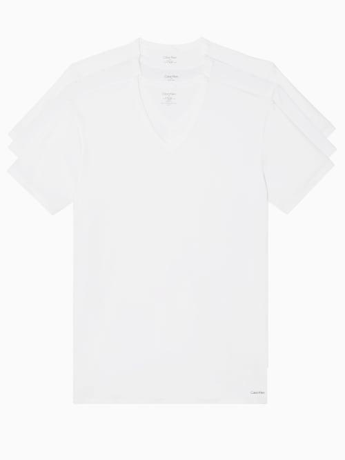 Calvin Klein COTTON STRETCH V-NECK T-SHIRT 3-PACK