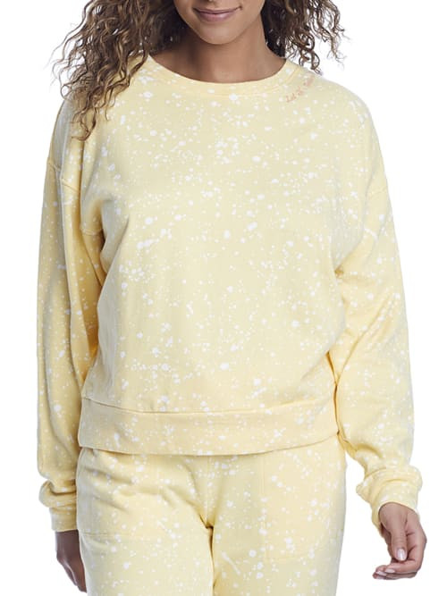 Pj Salvage Clothing DREAM ON DREAMER TERRY PULLOVER LOUNGE TOP