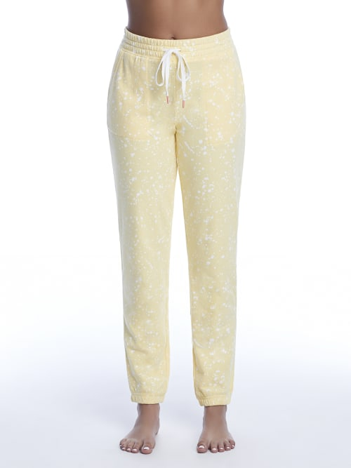 Pj Salvage Cottons DREAM ON DREAMER TERRY JOGGERS