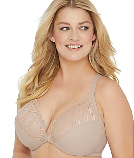 Glamorise-Elegance-Front-Close-Wonderwire-Bra-Women-039-s thumbnail 11