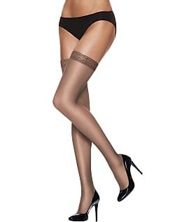 Hanes-Silk-Reflections-Silky-Sheer-Thigh-Highs-Hosiery-Women-039-s thumbnail 7