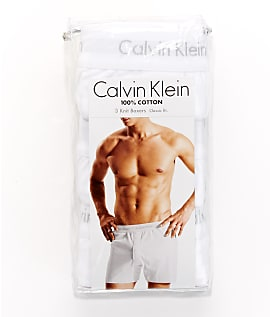 Calvin-Klein-Cotton-Knit-Boxer-3-Pack-Underwear-Men-039-s thumbnail 14