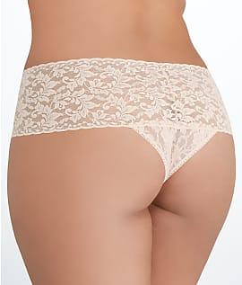 4b2d8301ed8 Hanky Panky Plus Size Signature Lace Retro Thong Panty - Women s