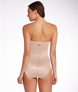a0f44d5beb6a7 Miraclesuit Shape Away Extra Firm Control Strapless Bodysuit Shapewear -  Women s 5 5 of 5 See More
