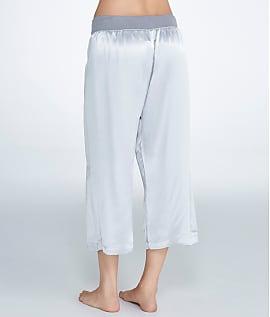 PJ-Harlow-Jolie-Satin-Capri-Lounge-Pants-Women-039-s thumbnail 12