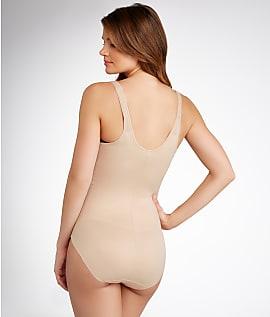 b7dd4f31b2 TC Fine Intimates Firm Control Open-Bust Torsette Bodysuit Shapewear ...