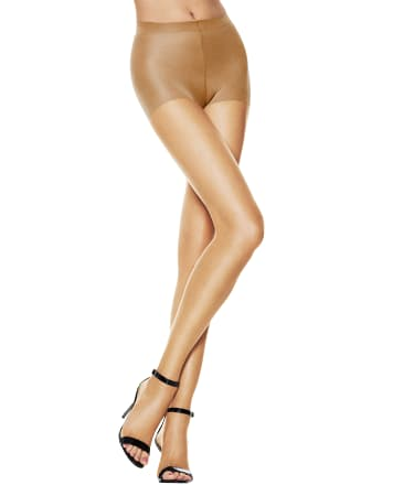Desire Hosiery Fishnet Thigh High Stocking One Size Nude 100/% Nylon Taiwan Made