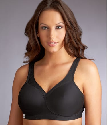 Glamorise: Medium Control Wire-Free Sports Bra