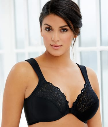 Glamorise: Wonderwire® Front-Close Bra