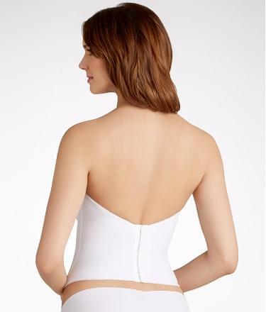 Va Bien: Low Back Strapless Bustier