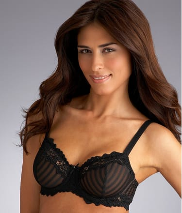 Whimsy by Lunaire: Barbados Stripe Demi Bra