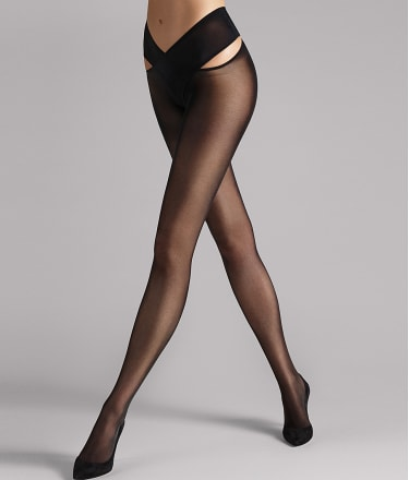 Wolford: Individual 12 Stay-Hip Pantyhose