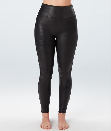 Spanx Plus Size Ready To Wow Faux Leather Leggings Bare