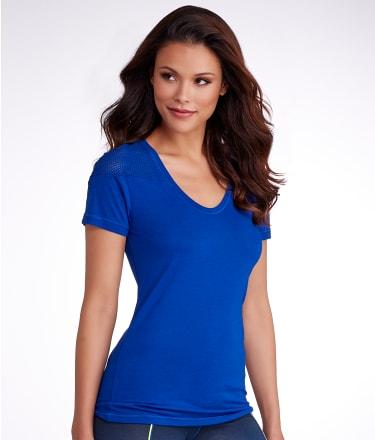 2(x)ist: Mesh Shoulder Jersey T-Shirt