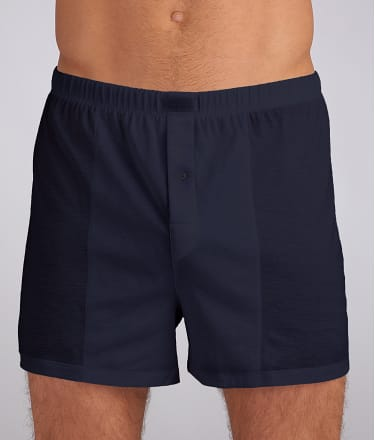 Hanro: Cotton Sporty Knit Boxer