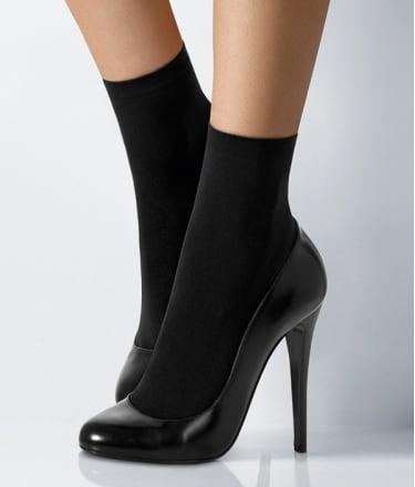 Wolford: Velvet Socks