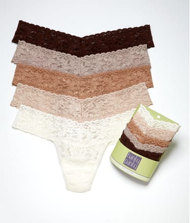 Hanky Panky: Signature Lace Low Rise Thong 5-Pack