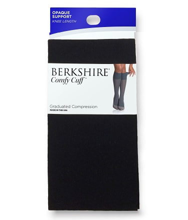 Berkshire: Opaque Graduated Compression Knee Highs