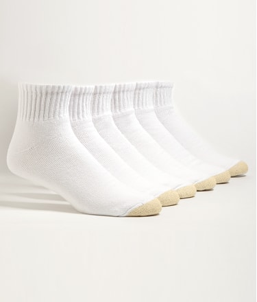 Gold Toe: Ankle Socks 6-Pack Extended Sizes
