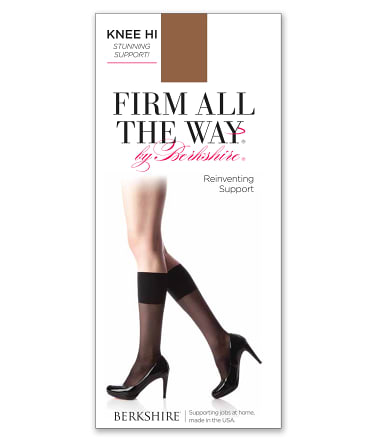 Berkshire: Firm All The Way Knee Highs