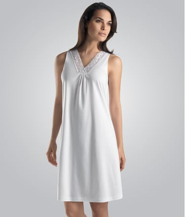 Hanro: Moments Cotton Tank Gown